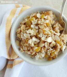 Maple Brown Rice Breakfast Bowl – gluten free