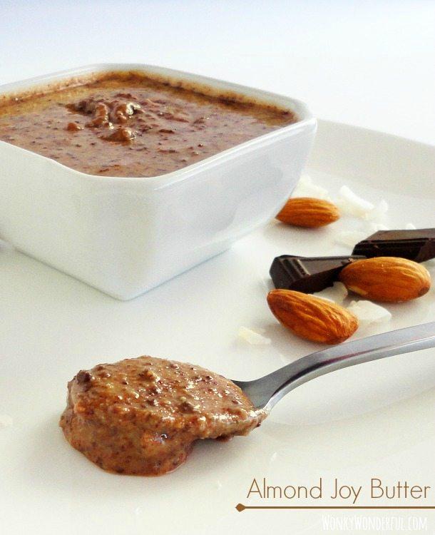 Chocolate Coconut Almond Butter Recipe - Almond Joy Butter