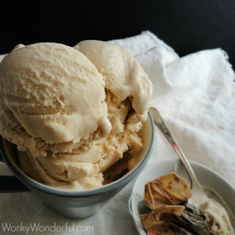 Vanilla Chai Ice Cream