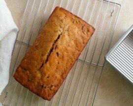 Orange Glazed Cranberry Bread Recipe - wonkywonderful.com