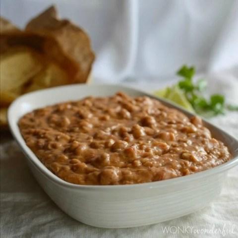 Cheesy Bean Dip