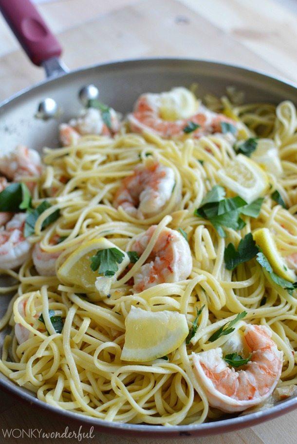 Shrimp Scampi Pasta - Quick Dinner Recipe