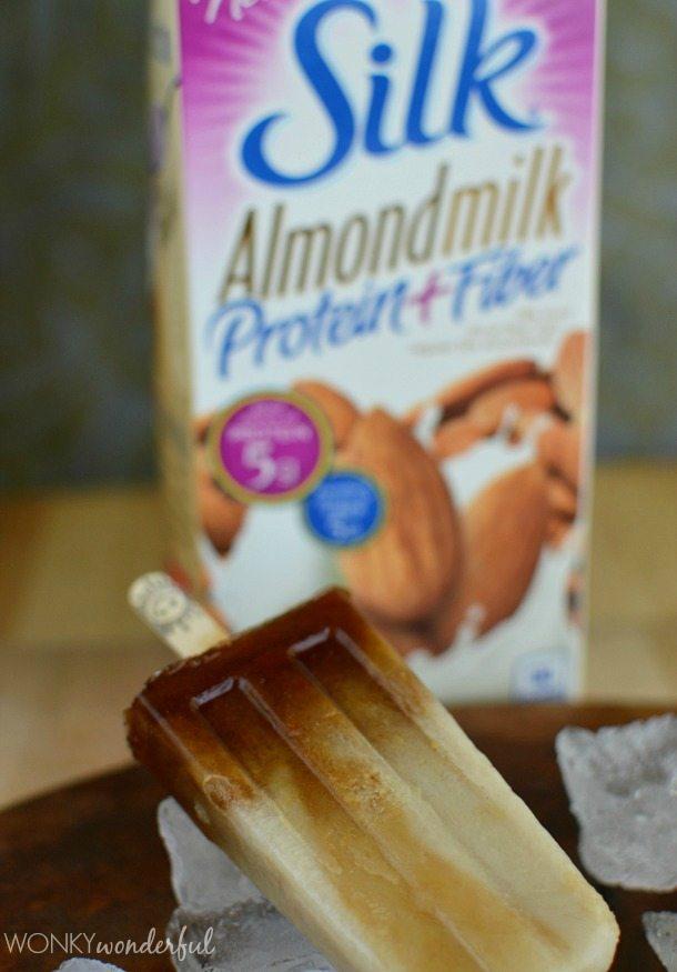 Dairy Free Coffee Popsicles : easy recipe, ice cream, summer treat