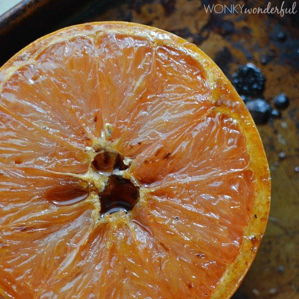 Broiled Grapefruit Gelato Recipe : ice cream : citrus : dessert