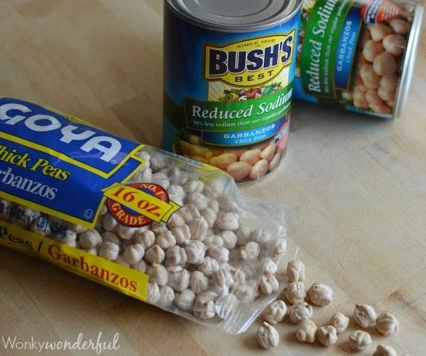 How To Make Hummus Dried Beans vs Canned : Hummus Recipe