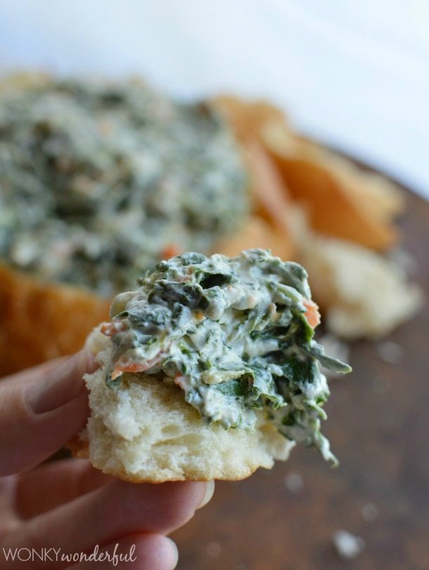 Spinach Dip Recipe Lightened Up : A healthy version of the favorite appetizer