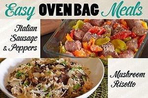 Oven Bag meals