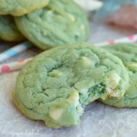 Cotton Candy White Chocolate Chip Cookies