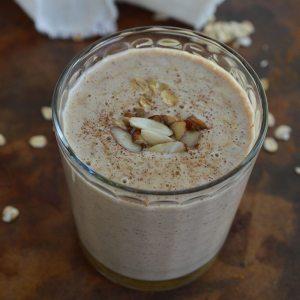 Almond Milk Breakfast Smoothie Recipe