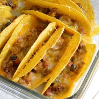 Oven Baked Tacos