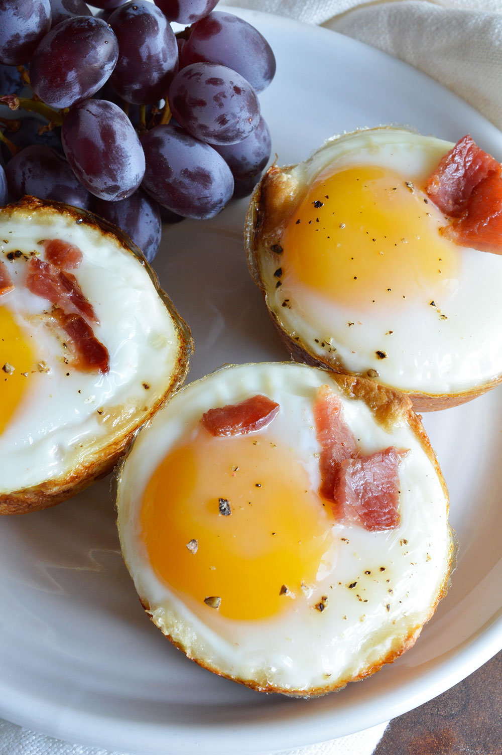 Bacon and Egg Breakfast Cups | Wonky Wonderful