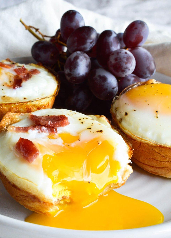 Bacon And Egg Breakfast Cups Wonkywonderful