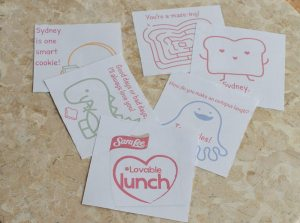 Loveable Lunch Notes