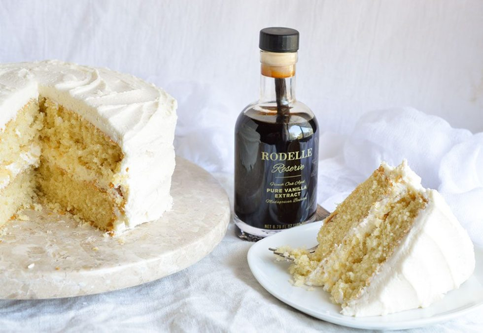 how to make a vanilla cake from scratch