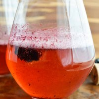 Blackberry Bellini Recipe