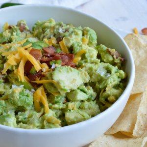 Jalapeño Popper Guacamole Recipe
