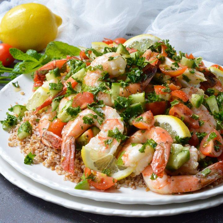 Tabouli Shrimp Salad Recipe