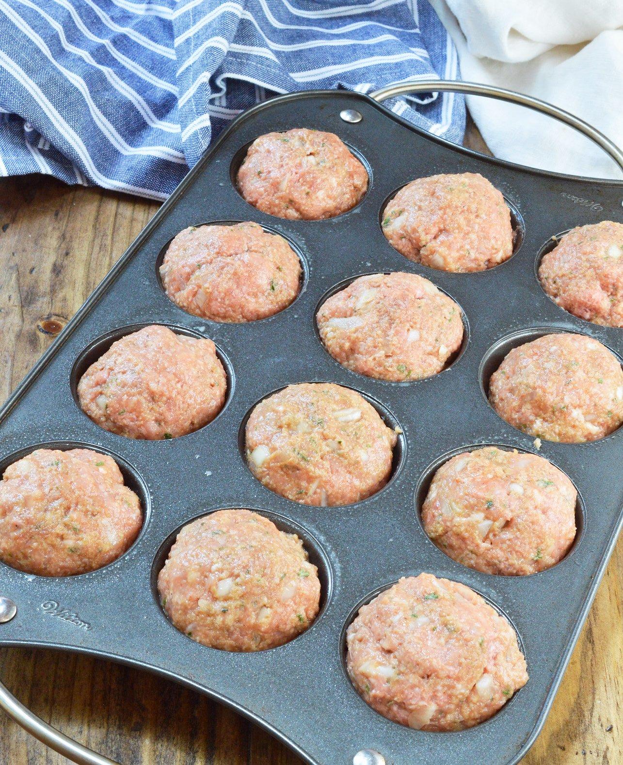 Glazed Meatloaf Muffins Wonkywonderful