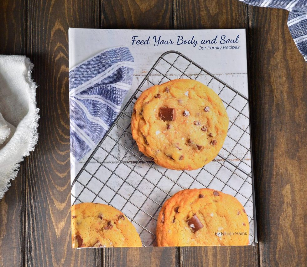 Create your own family cookbook.