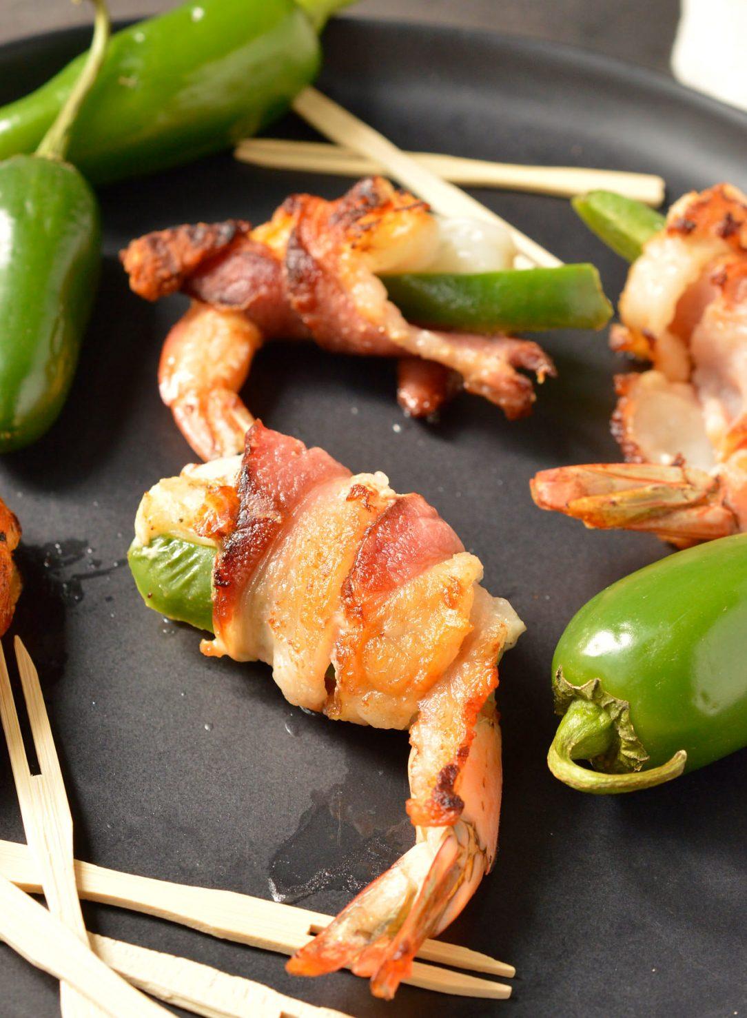 bacon wrapped shrimp whole30 paleo  wonkywonderful