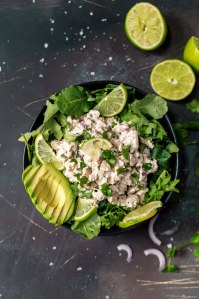 Cilantro Lime Chicken Salad Paleo Whole30