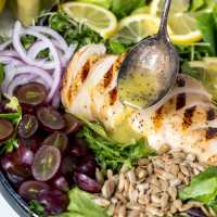 Creamy Lemon Poppy Seed Dressing