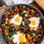 paleo breakfast sweet potato hash recipe