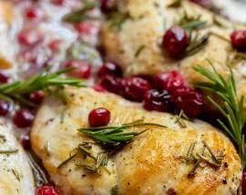 Cranberry Rosemary Chicken