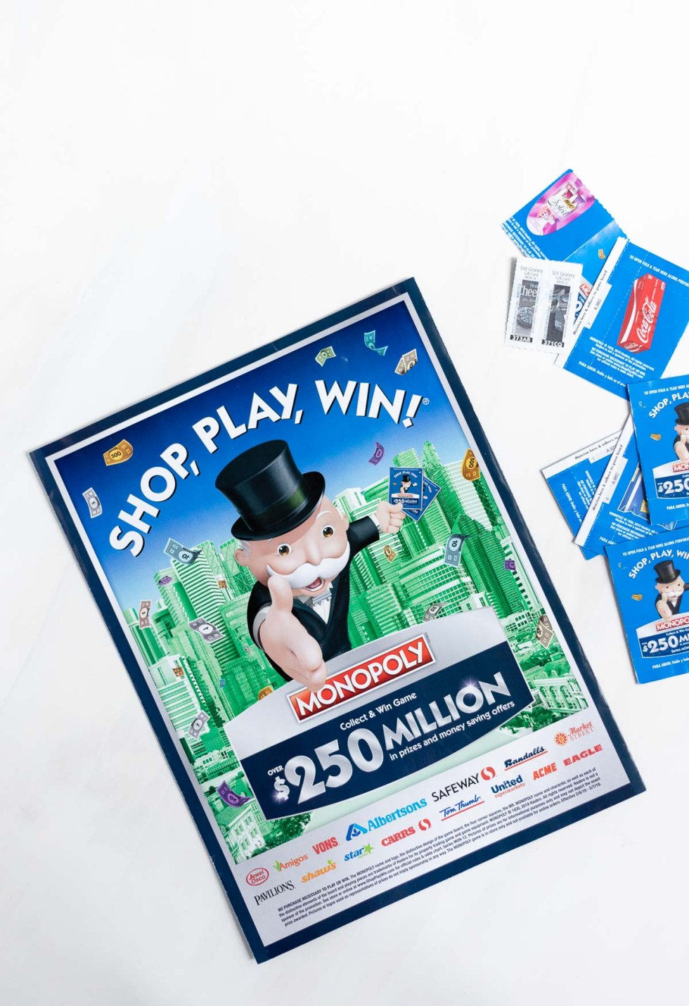 monopoly shop play win