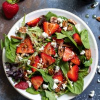 Strawberry Spinach Salad Recipe