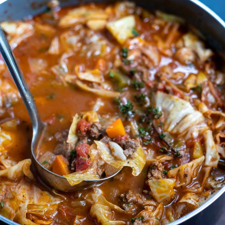 Beef Cabbage Soup Recipe
