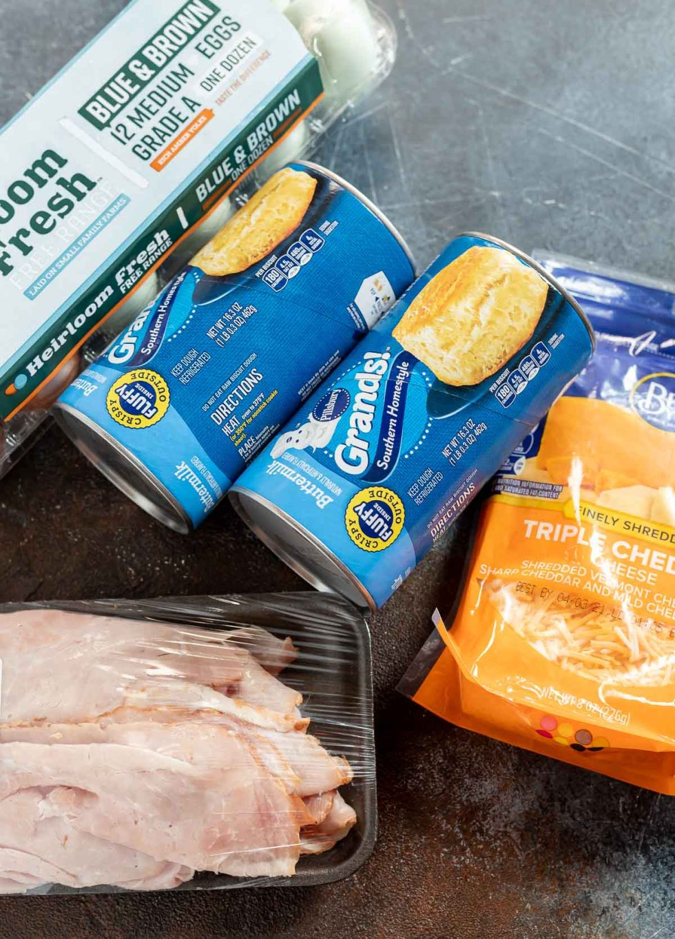 casserole ingredients in packages