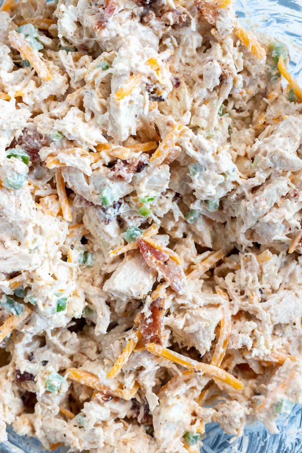 prepared chicken salad