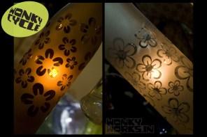 bottle light - flower, INR 2500