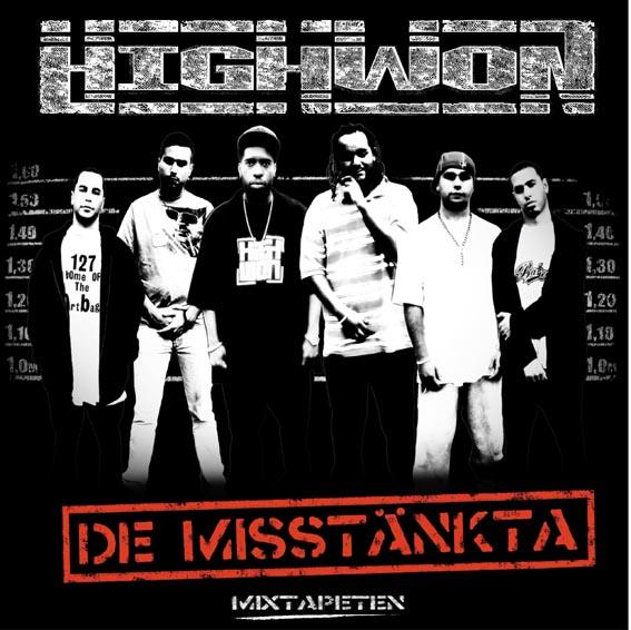 HighWon - De Misstänkta CD Cover