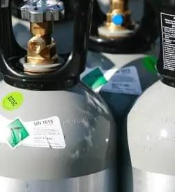 Kohlensäure Flaschen Wonsak