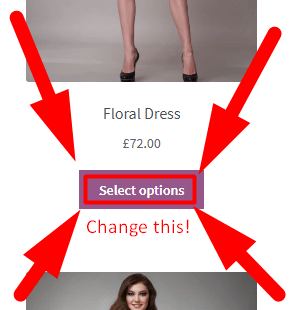 Change Select Options Text in WooCommerce Plugin