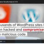 Security Vulnerability In WooCommerce 3.4.5 – UPDATE NOW