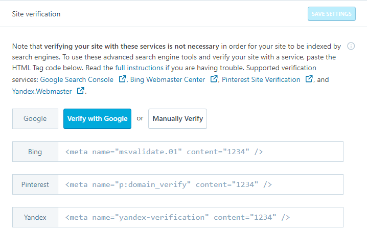 Google Site Kit WordPress Plugin for Site Verification