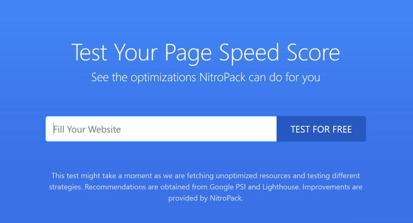 Speed Up WordPress with NitroPack WordPress Plugin