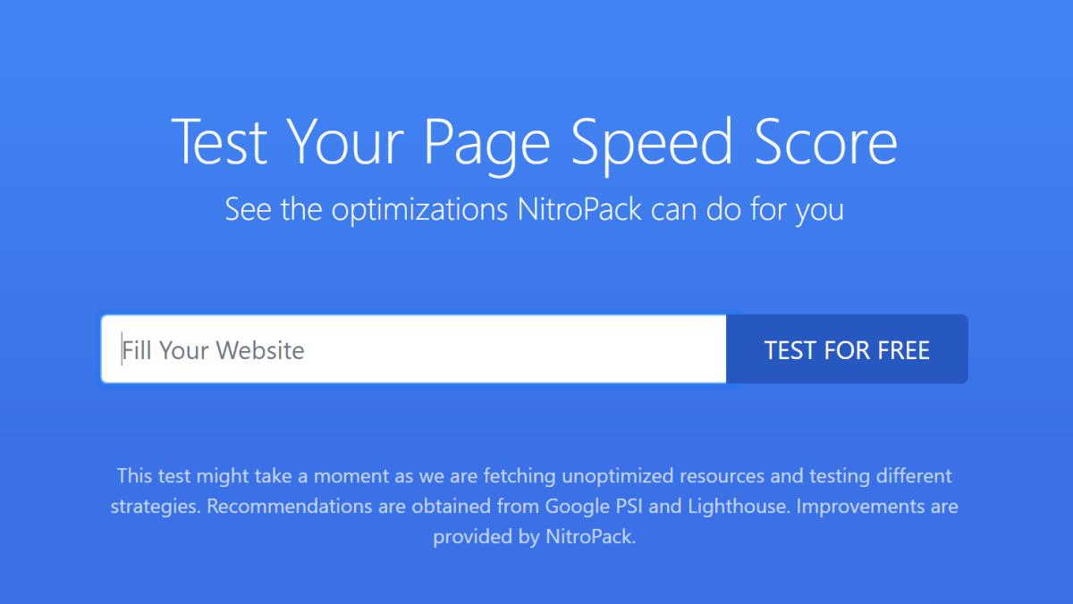 Steps for Powerfully Fast NitroPack Setup