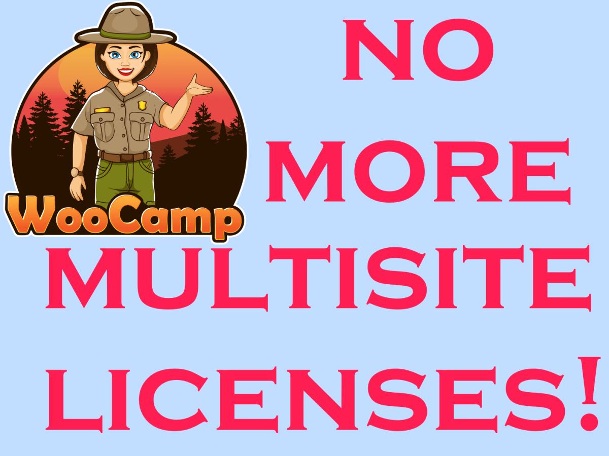 BIG NEWS: No More Multi Site Licenses for WooCommerce Plugins