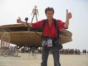 Antoine de Maximy - Burning Man
