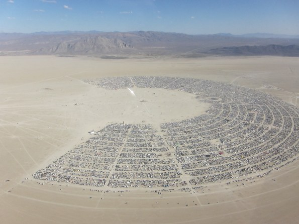 Burning Man - crédit photo Kyle Harmon