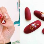♥ 火熱的心冰冷的手!鮮紅色冬季美甲