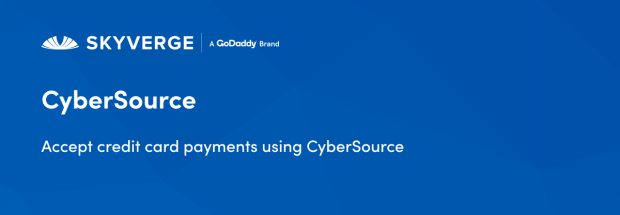 Accept credit card payments using CyberSource