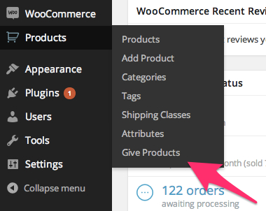 An easy to find admin menu item... right where you'd expect to find it!