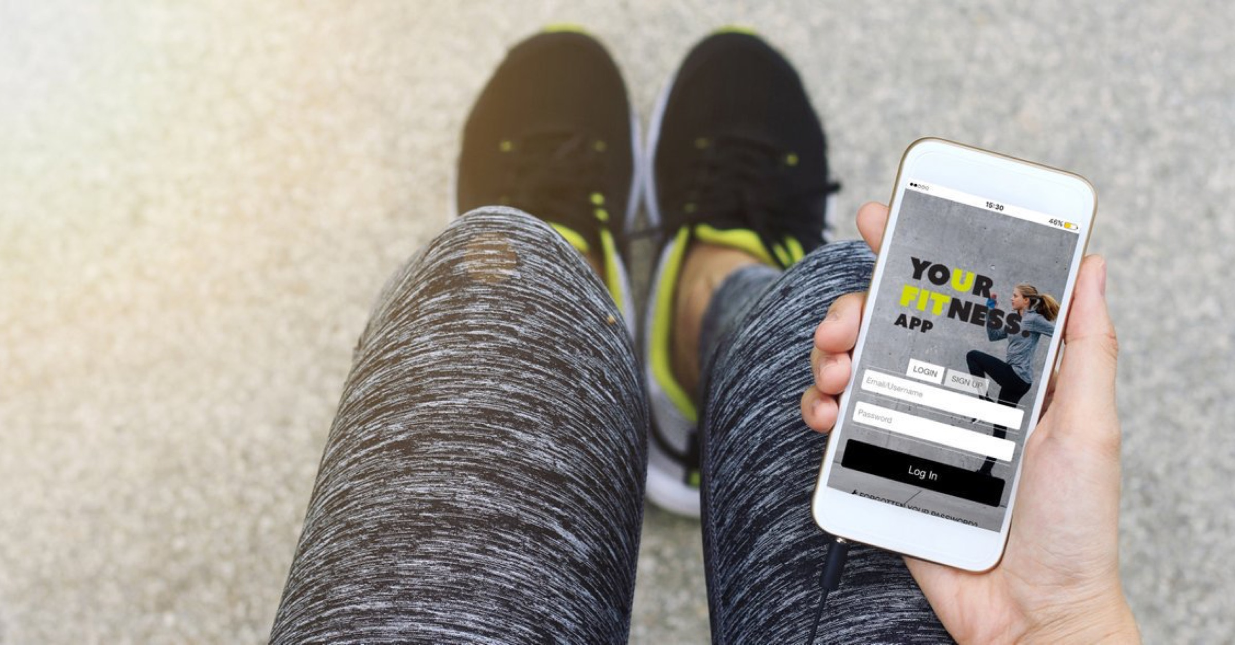 How a Former Olympic Athlete Made His Fitness App Dream a Reality