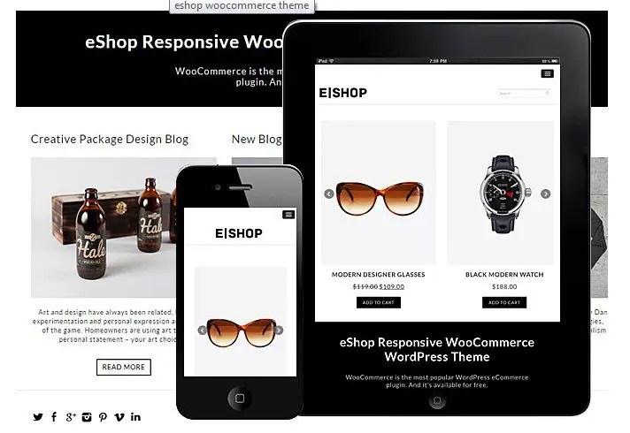 Dessign Eshop WooCommerce Themes