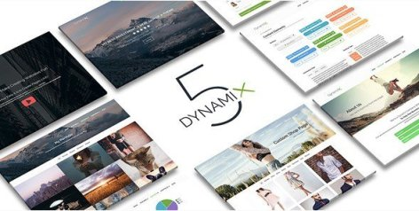 DynamiX - Business / Corporate WordPress Theme